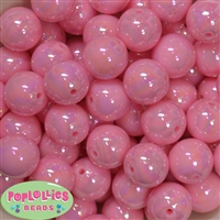 20mm Pink Miracle Bubblegum Beads Bulk