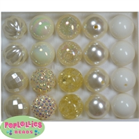 Mixed Style Cream Beads