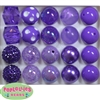 20mm Purple Mixed Styles Acrylic Bubblegum Bead