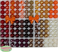 Fall Thanksgiving 120 Bead Set