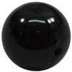 20mm Black Faux Pearl Acrylic Bubblegum Beads