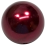 20mm Burgundy Faux Pearl Acrylic Bubblegum Beads
