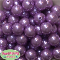 20mm Lavender Pearl Beads