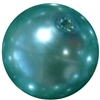 20mm Turquoise Faux Acrylic Pearl Bubblegum Beads
