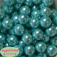 20mm Turquoise Pearl Beads