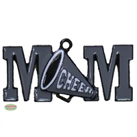 Cheer Mom Enamel Pendant