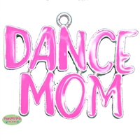 Dance Mom Enamel Pendant