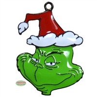 Enamel the Grinch Pendant