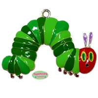 Hungry Caterpillar Enamel Pendant