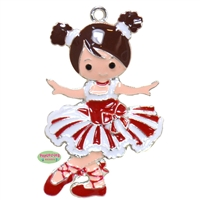 Sugarplum Fairy Enamel Pendant