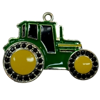 Little Green Tractor Pendant