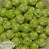 20mm Lime Polka Dot Beads
