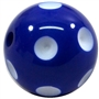 Royal Blue Polka Dot