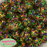 20mm Halloween Confetti Rhinestone Beads Bulk