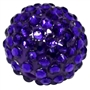 Dark Purple Rhinestone