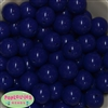 20mm Admiral Blue Acrylic Bubblegum Beads Bulk
