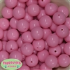 20mm Baby Pink Acrylic Bubblegum Beads Bulk