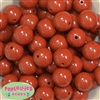 20mm Caramel Acrylic Bubblegum Beads Bulk