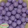 20mm Lavender Acrylic Bubblegum Beads