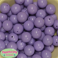 20mm Lavender Bubblegum Beads Bulk