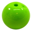20mm Lime Green Acrylic Bubblegum Beads