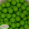 20mm Lime Green Acrylic Bubblegum Beads Bulk