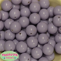 20mm Bulk Light Lavender Bubblegum Beads