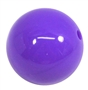 20mm Medium Purple Acrylic Bubblegum Beads
