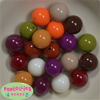 20mm Bubblegum Beads Mix 1 20 pc.