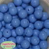 20mm Periwinkle Bubblegum Beads