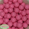 20mm Pink Acrylic Bubblegum Beads