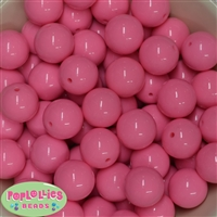 20mm Pink Bubblegum Beads