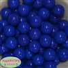 20mm Royal Blue Acrylic Bubblegum Beads