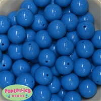 Sky Blue Bubblegum Beads