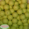 20mm Spring Green Acrylic Bubblegum Beads