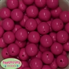 20mm Bulk Taffy Pink Gumball Beads