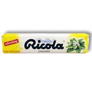 Ricola Cough Drop Sticks - 18/Box