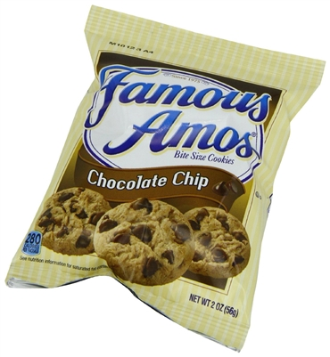 Famous Amos Chocolate Chip Cookies - 36ct