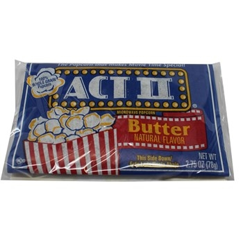 Act II Butter Popcorn - 36/ct