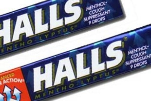 Halls Cough Drop Sticks - 20/box
