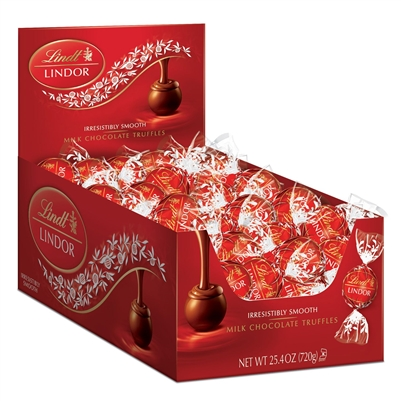 Lindt Lindor Truffles Milk Chocolate - 60/box