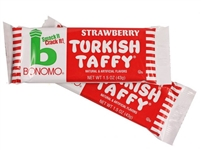 Bonomo Turkish Taffy Strawberry - 24/box