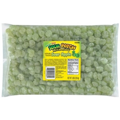 Sour Patch Sour Apple - 5lb/bag