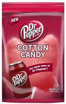 Dr Pepper Cotton Candy - 3.1 ounce bag