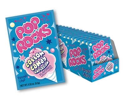 Pop Rocks Cotton Candy - 24/box