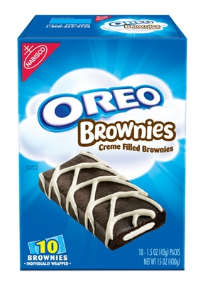 Oreo Brownie Creme Filled 12/box