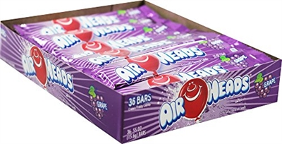 Airheads Grape - 36/box