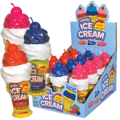 Candy Ice Cream - Twist-N-Lick - 12/box