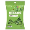 "Hershey's Kisses ""Celebration"" 7 oz Bag - Green **"