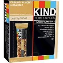 Kind Bar - Caramel Almond & Sea Salt 12/box